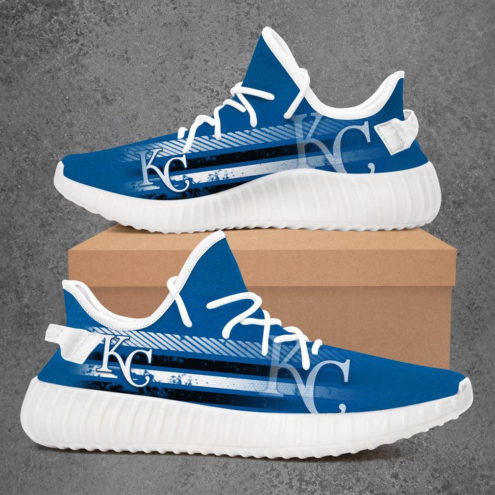 Kansas City Royals Mlb Baseball Yeezy Sneakers Shoes