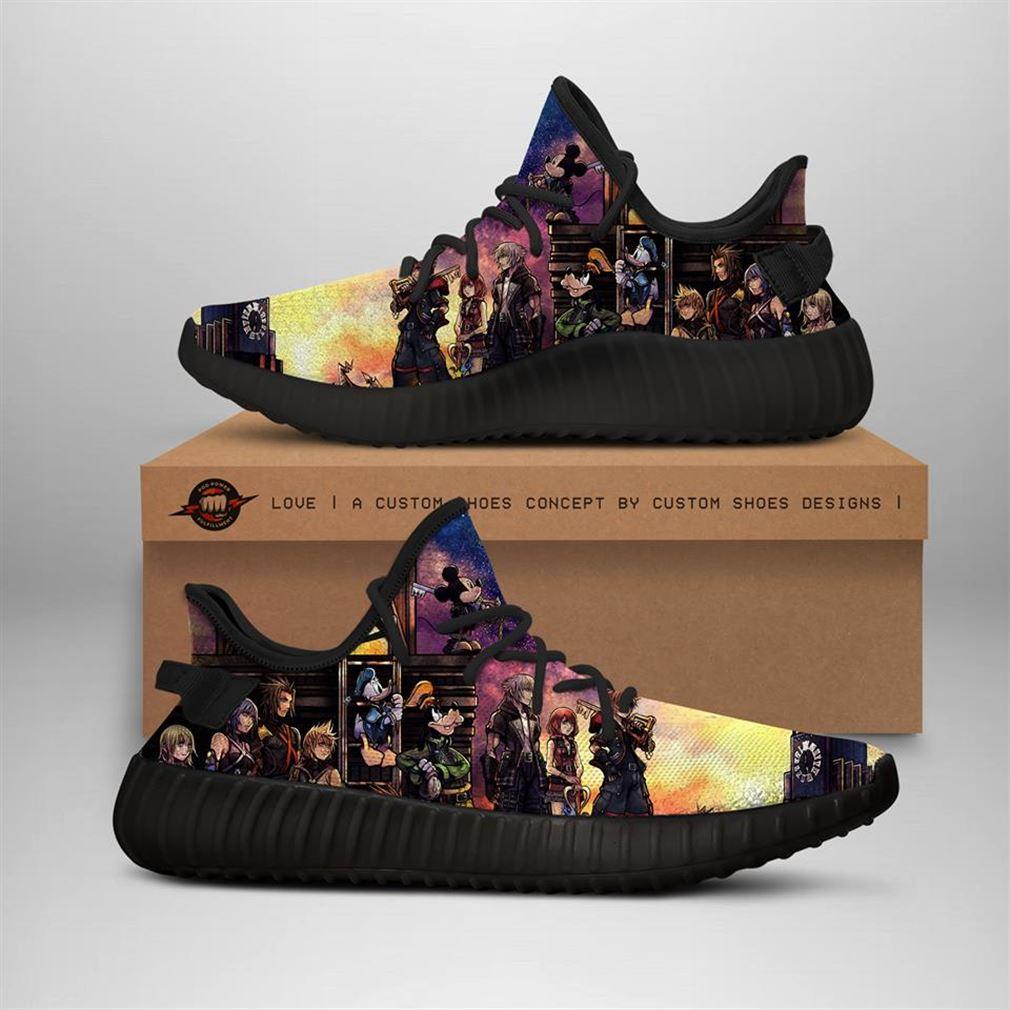 Kingdom Hearts Yeezy Sneakers Shoes