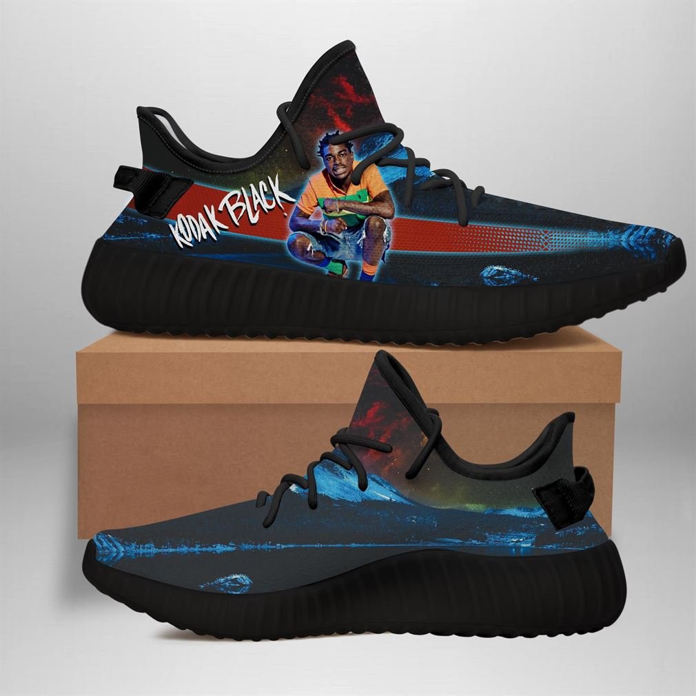 Kodak Black Yeezy Sneakers Shoes