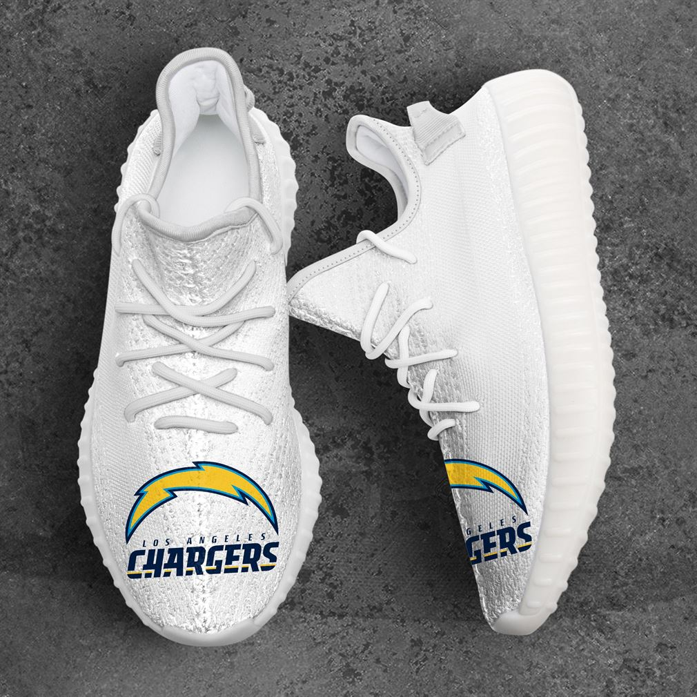 Los Angeles Chargers Nfl Sport Teams Yeezy Sneakers Shoes