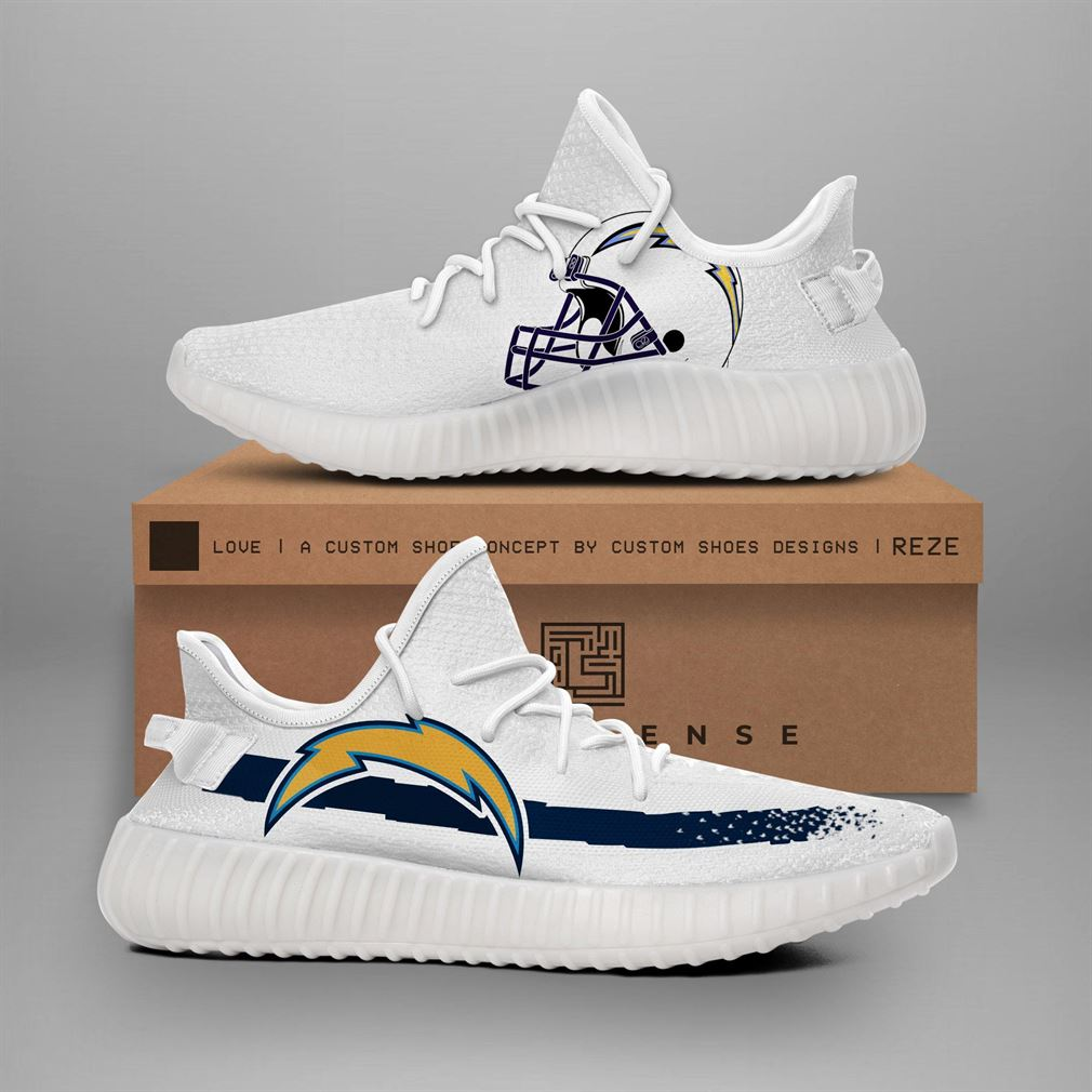 Los Angeles Chargers Nfl Teams Yeezy Sneakers Shoes