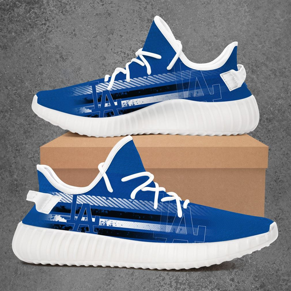 Los Angeles Dodgers Mlb Baseball Yeezy Sneakers Shoes