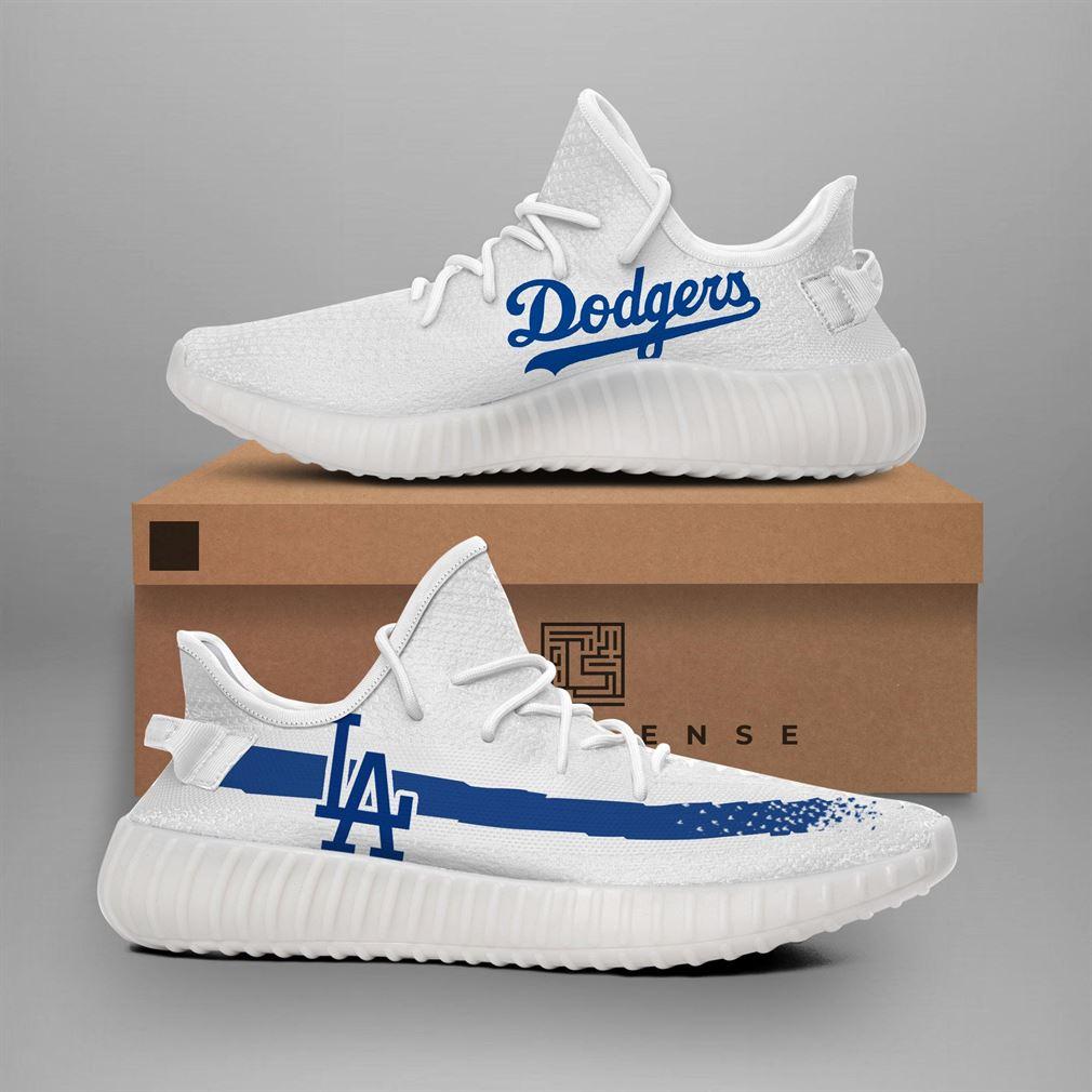 Los Angeles Dodgers Mlb Teams Runing Yeezy Sneakers Shoes