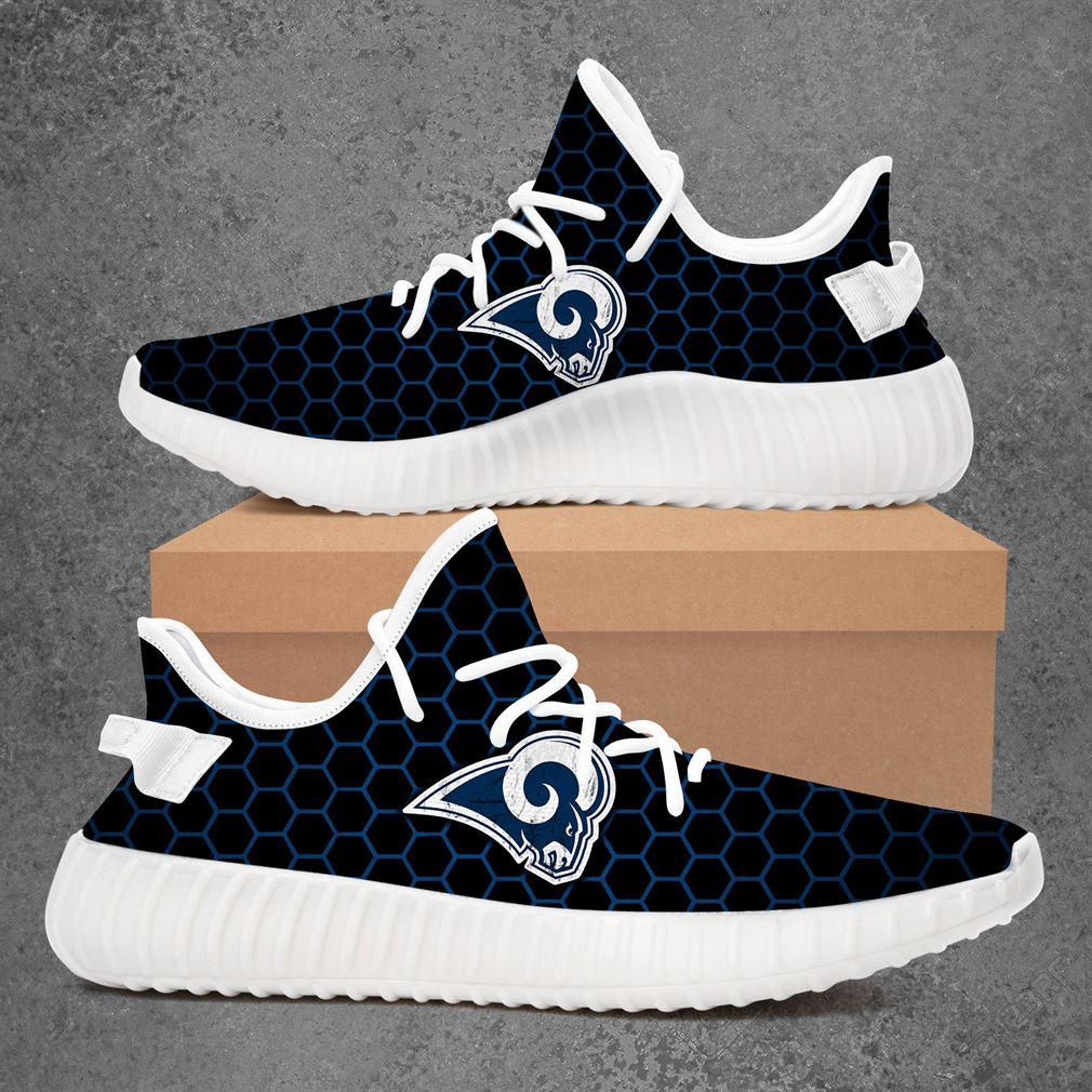 Los Angeles Rams Nfl Football Yeezy Sneakers Shoes