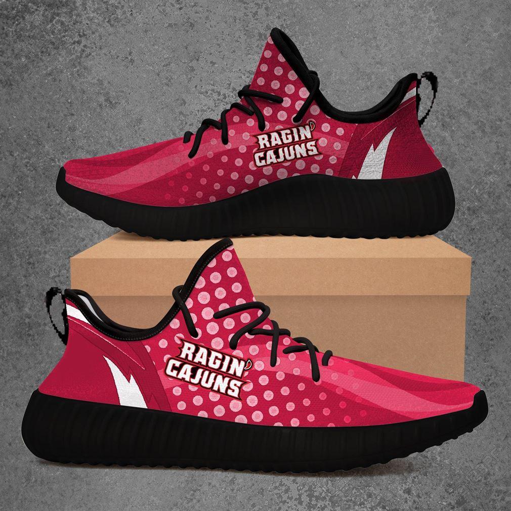 Louisiana Ragin Cajuns Ncaa Sport Teams Yeezy Sneakers Shoes