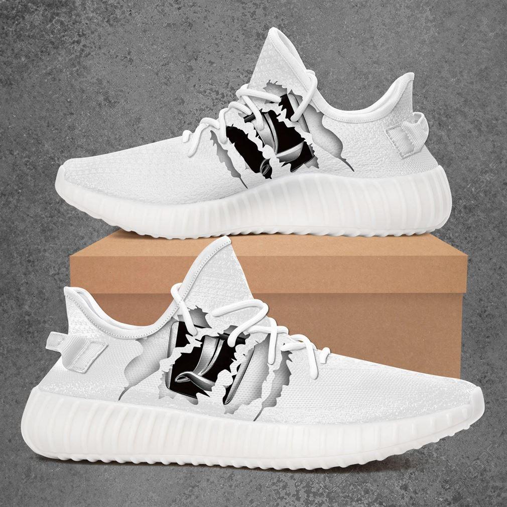 Luxgen Car Yeezy Sneakers Shoes White