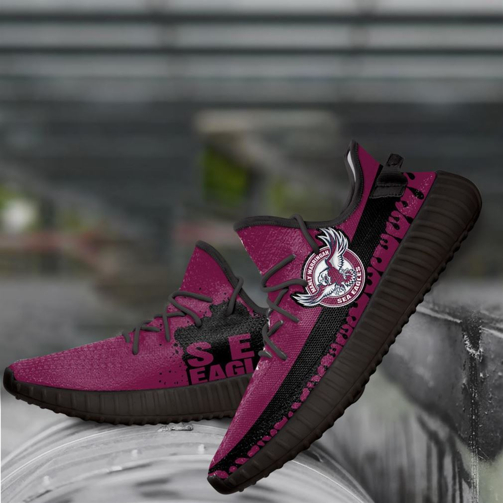 Manly Sea Eagles Nrl Yeezy Sneakers Shoes
