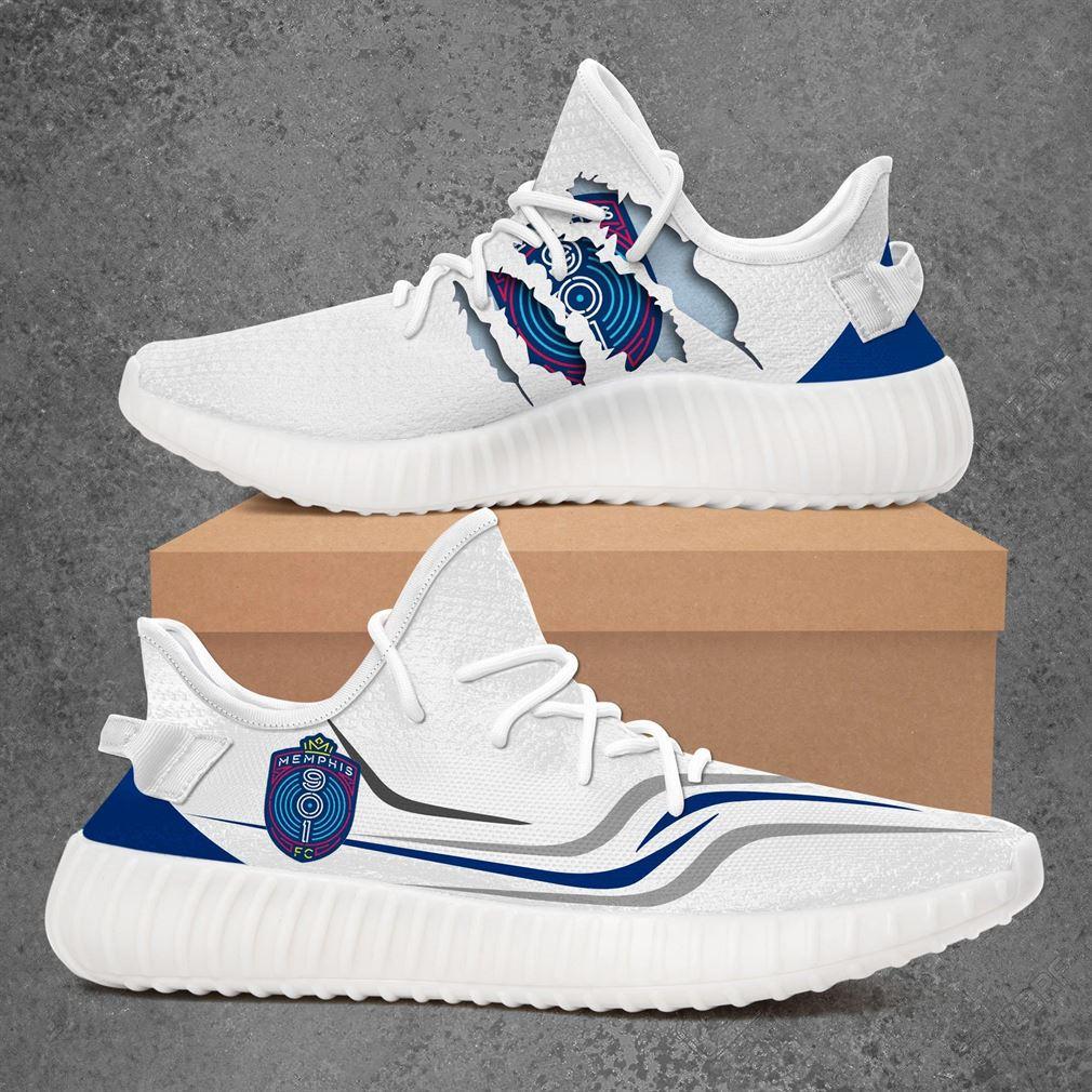 Memphis 901 Fc Usl Championship Sport Teams Yeezy Sneakers Shoes White