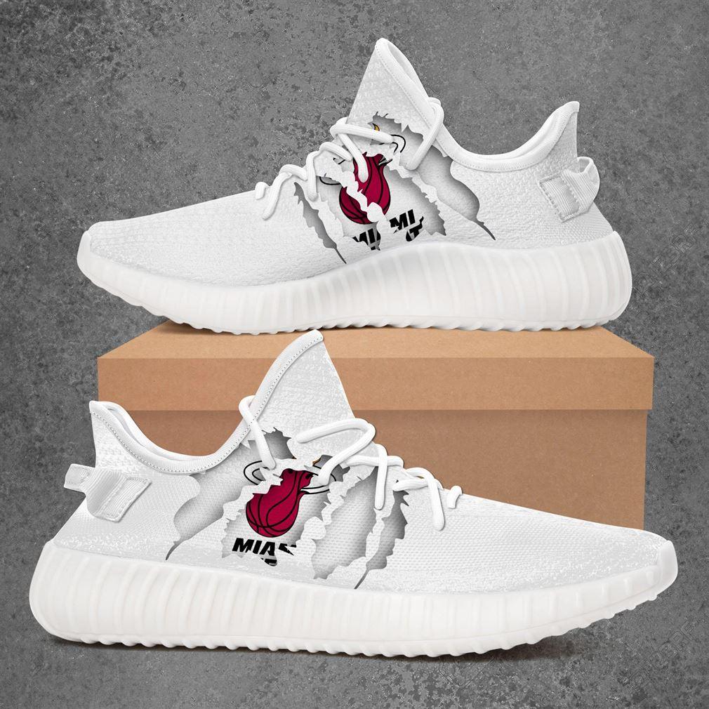 Miami Heat Nba Sport Teams Sneakers Shoes For Men Women Yeezy Sneakers Shoes