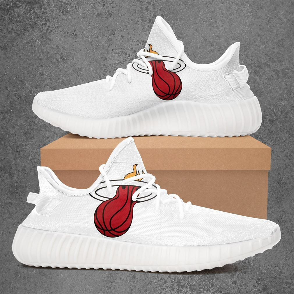Miami Heat Nfl Football Yeezy Sneakers Shoes