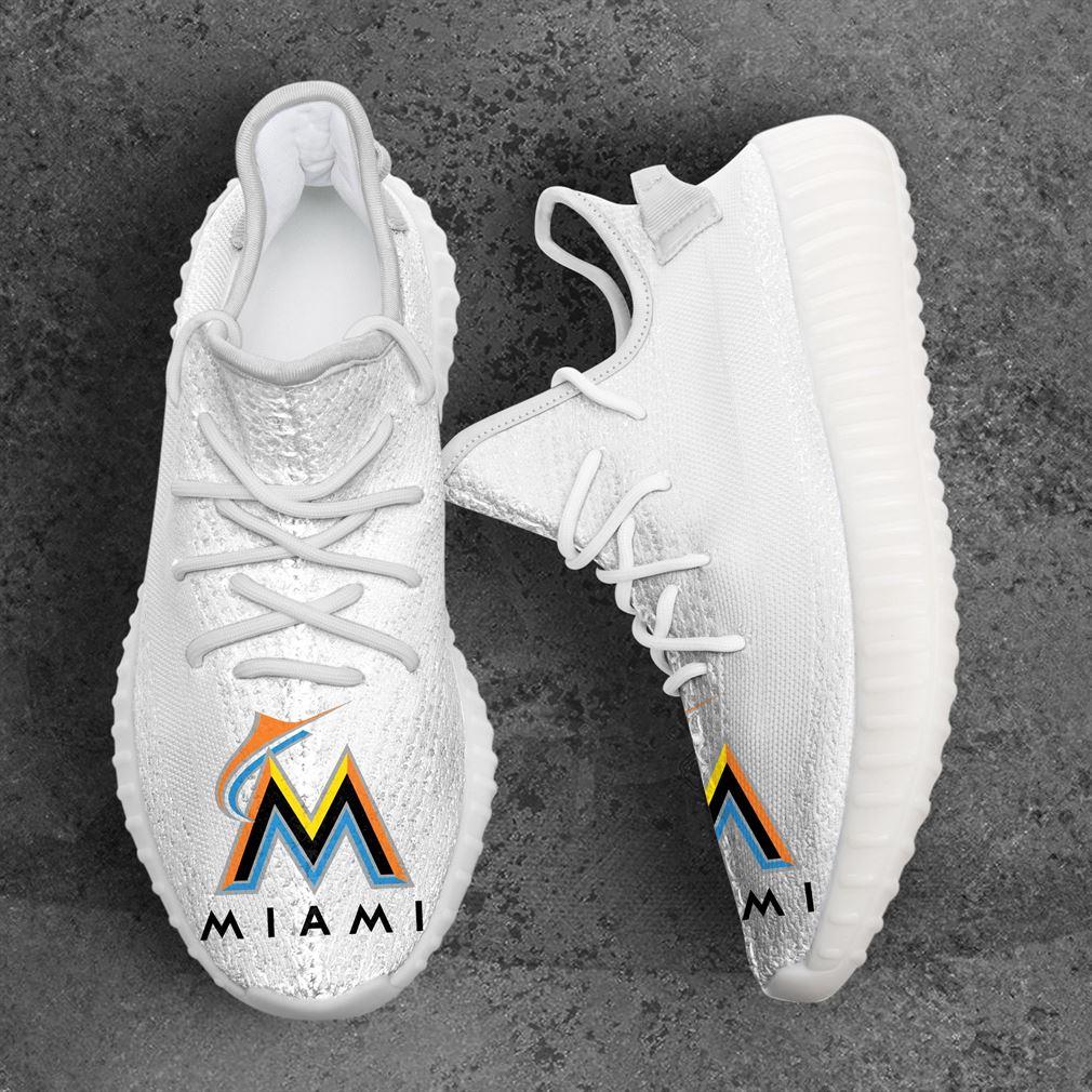 Miami Marlins Mlb Sport Teams Yeezy Sneakers Shoes