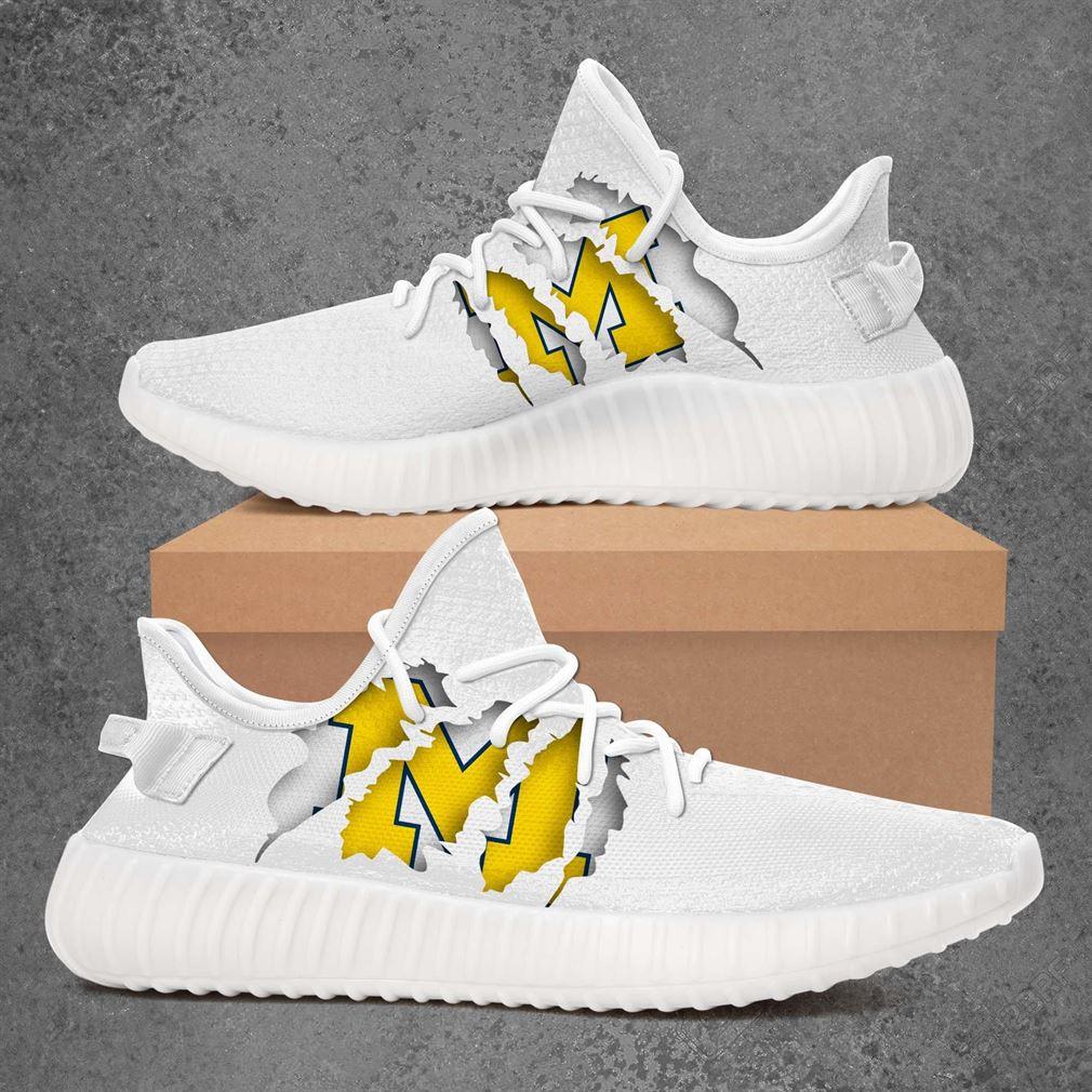 Michigan Wolverines Nhl Sport Teams Yeezy Sneakers Shoes