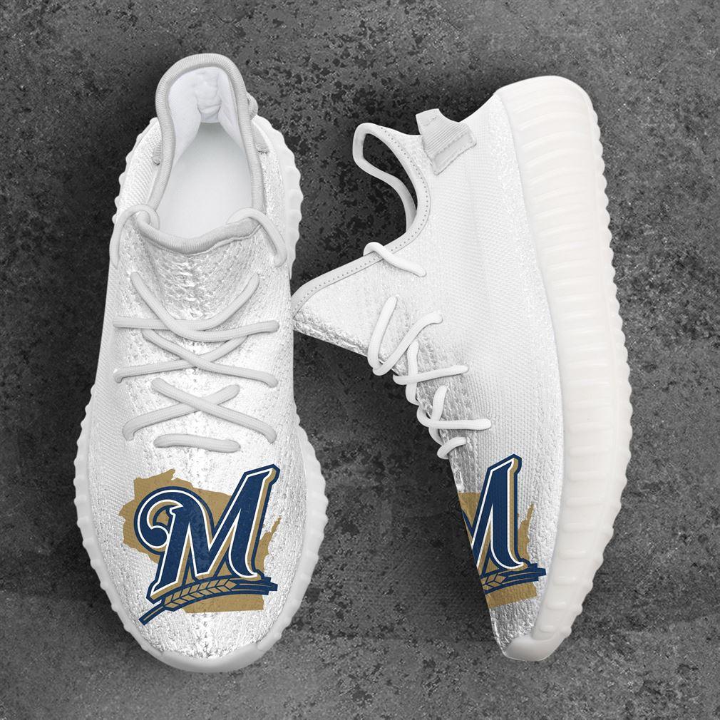 Milwaukee Brewers Mlb Sport Teams Yeezy Sneakers Shoes