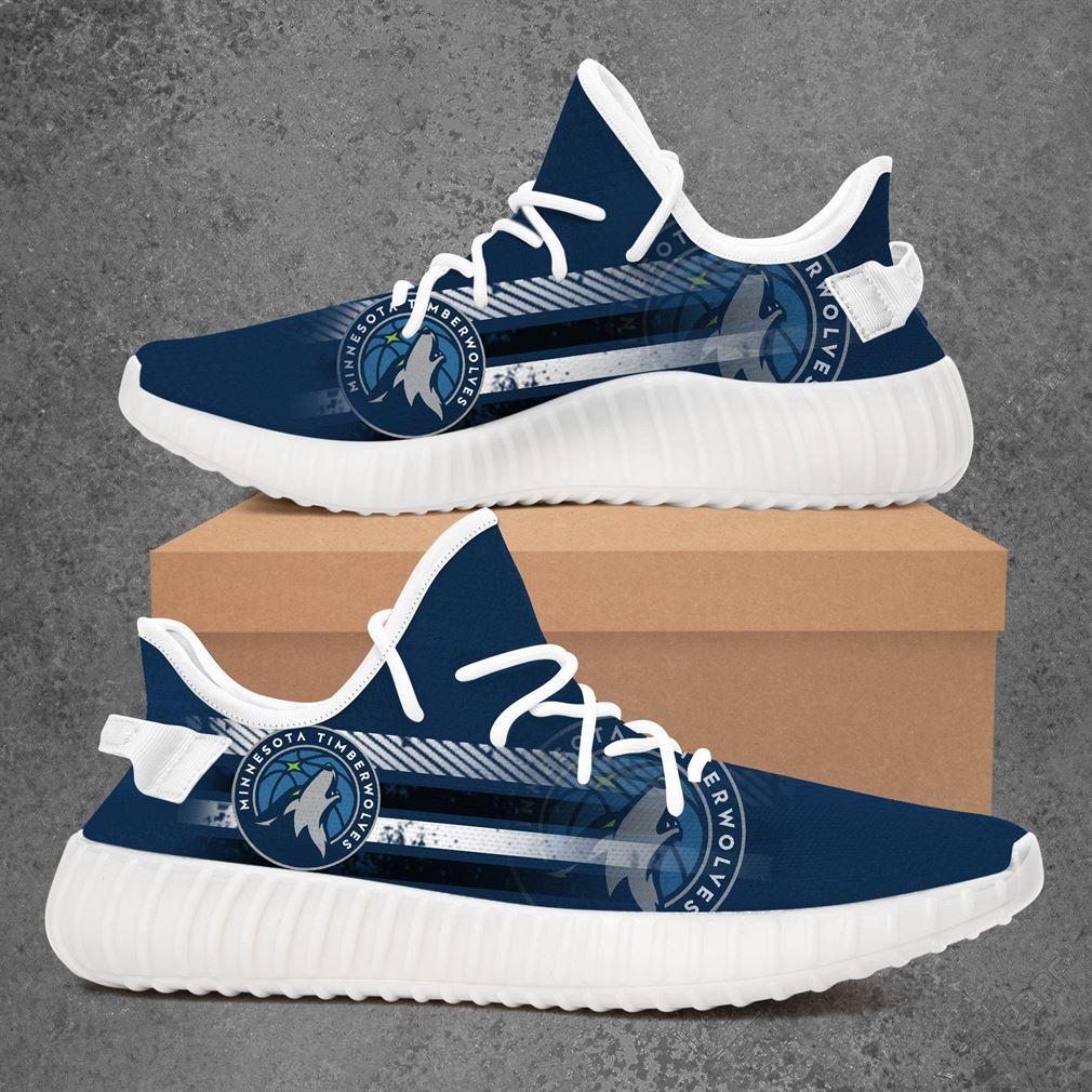 Minnesota Timberwolves Nba Basketball Yeezy Sneakers Shoes