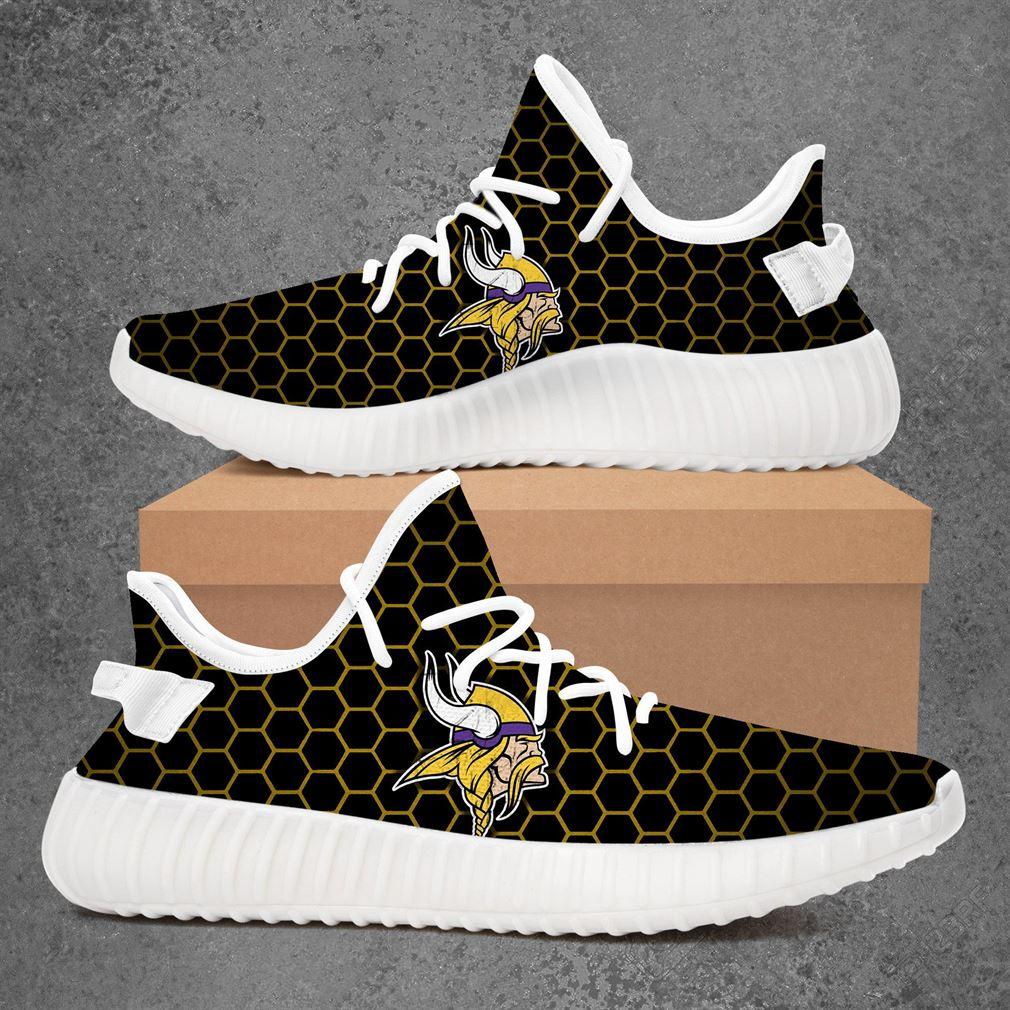 Minnesota Vikings Nfl Football Yeezy Sneakers Shoes