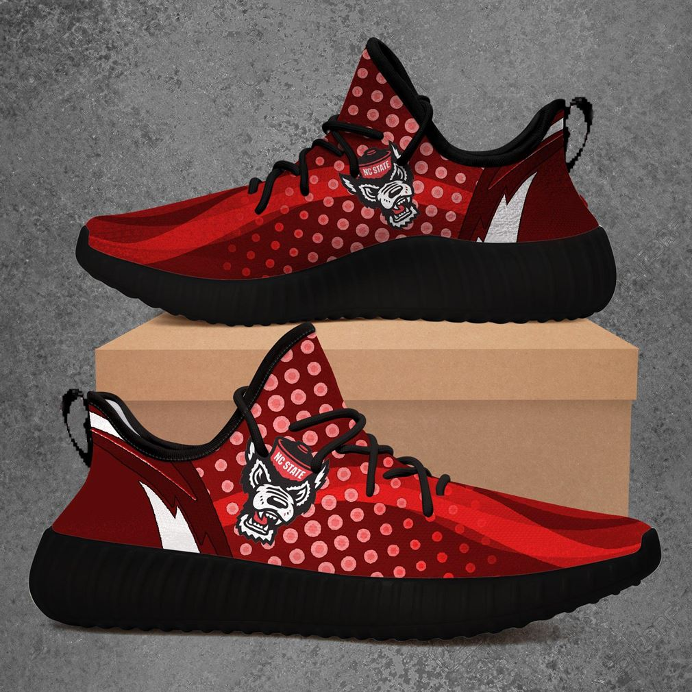 Nc State Wolfpack Ncaa Sport Teams Yeezy Sneakers Shoes