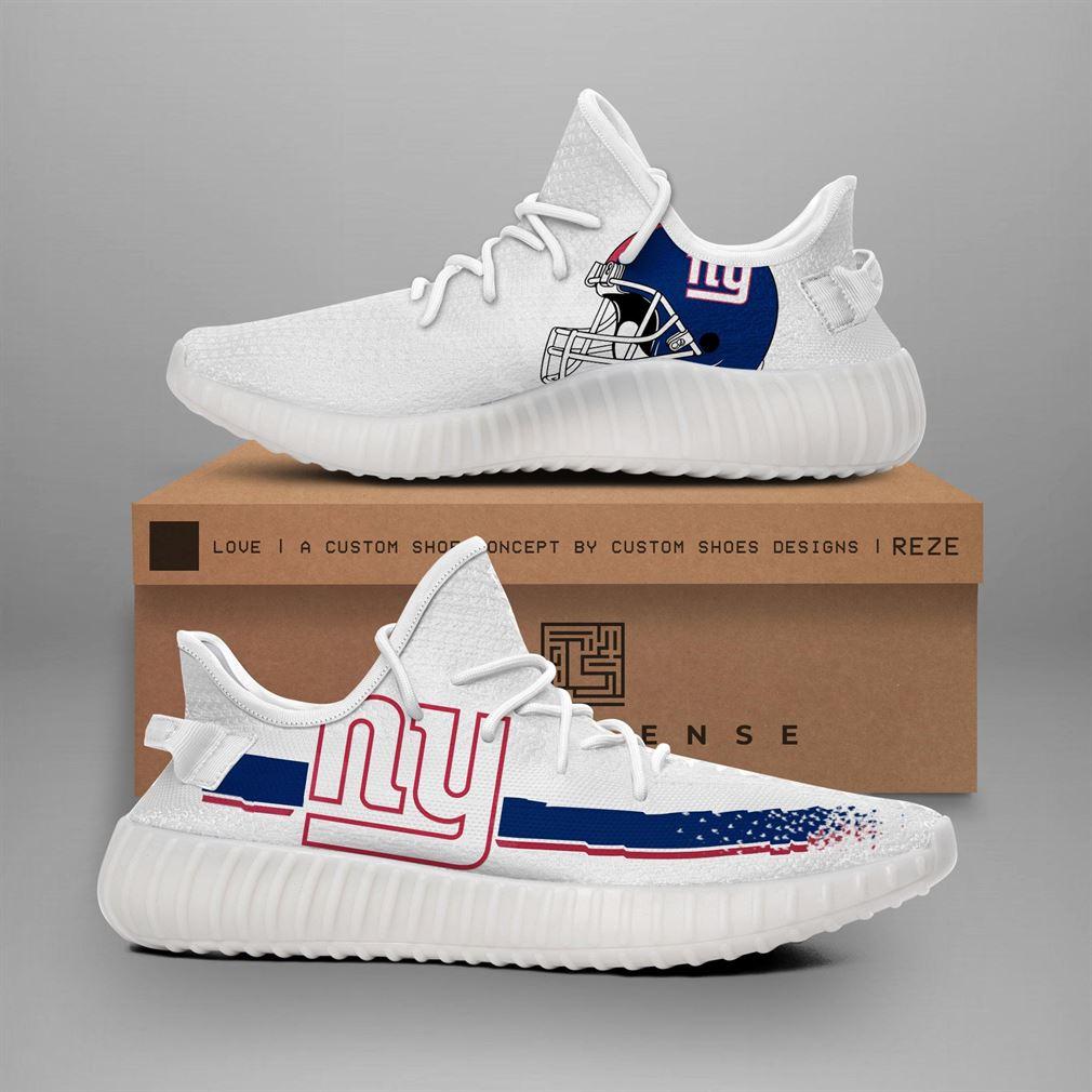 New York Giants Nfl Teams Yeezy Sneakers Shoes
