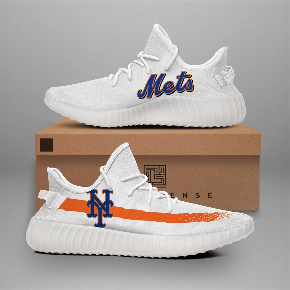 New York Mets Mlb Teams Runing Yeezy Sneakers Shoes