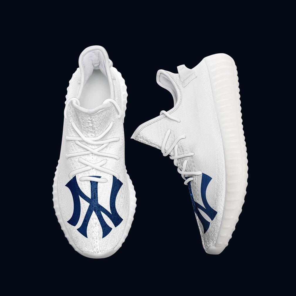 New York Yankees Mlb Teams Yeezy Sneakers Shoes
