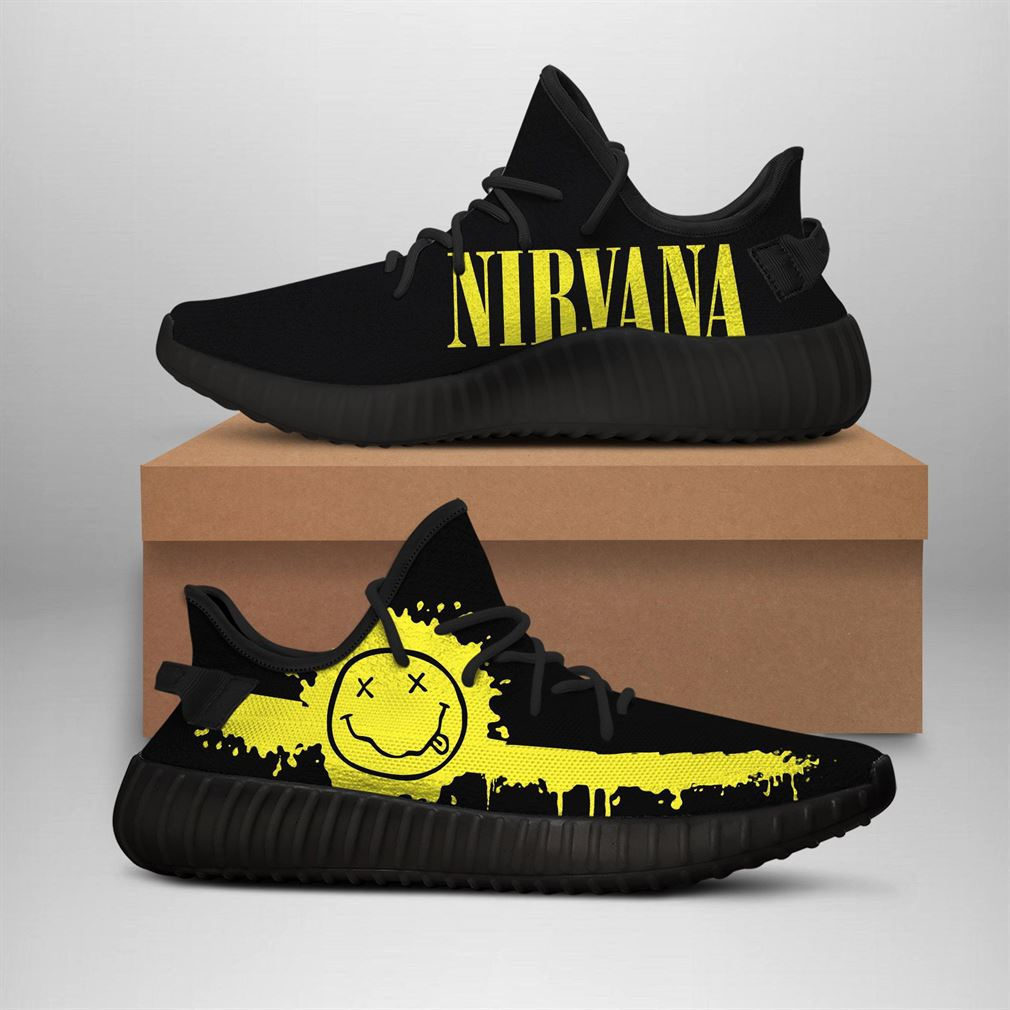 Nirvana Band Runing Yeezy Sneakers Shoes