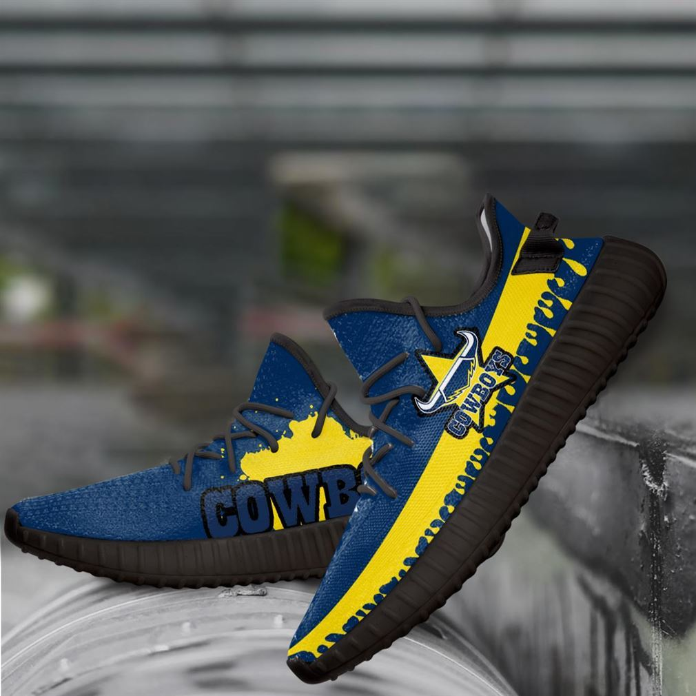 North Queensland Nrl Yeezy Sneakers Shoes