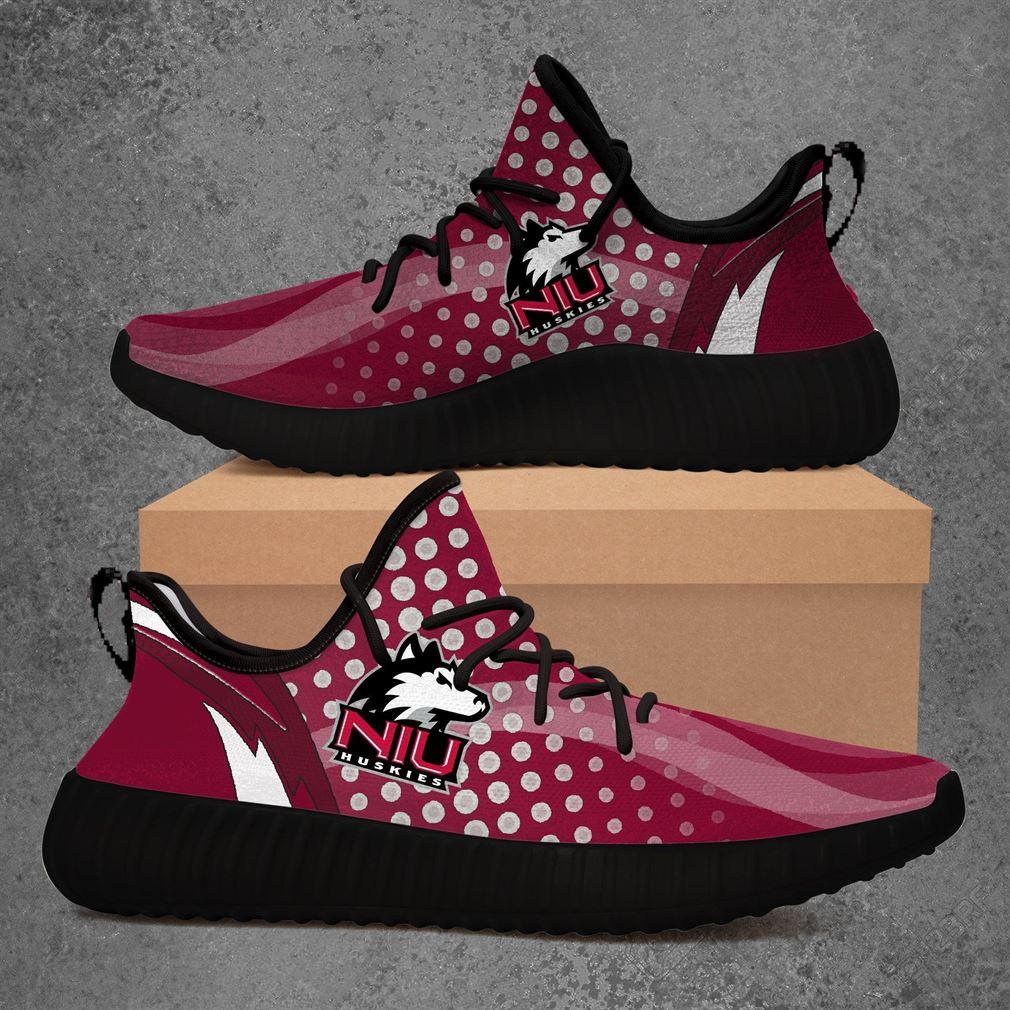 Northern Illinois Huskies Ncaa Sport Teams Yeezy Sneakers Shoes