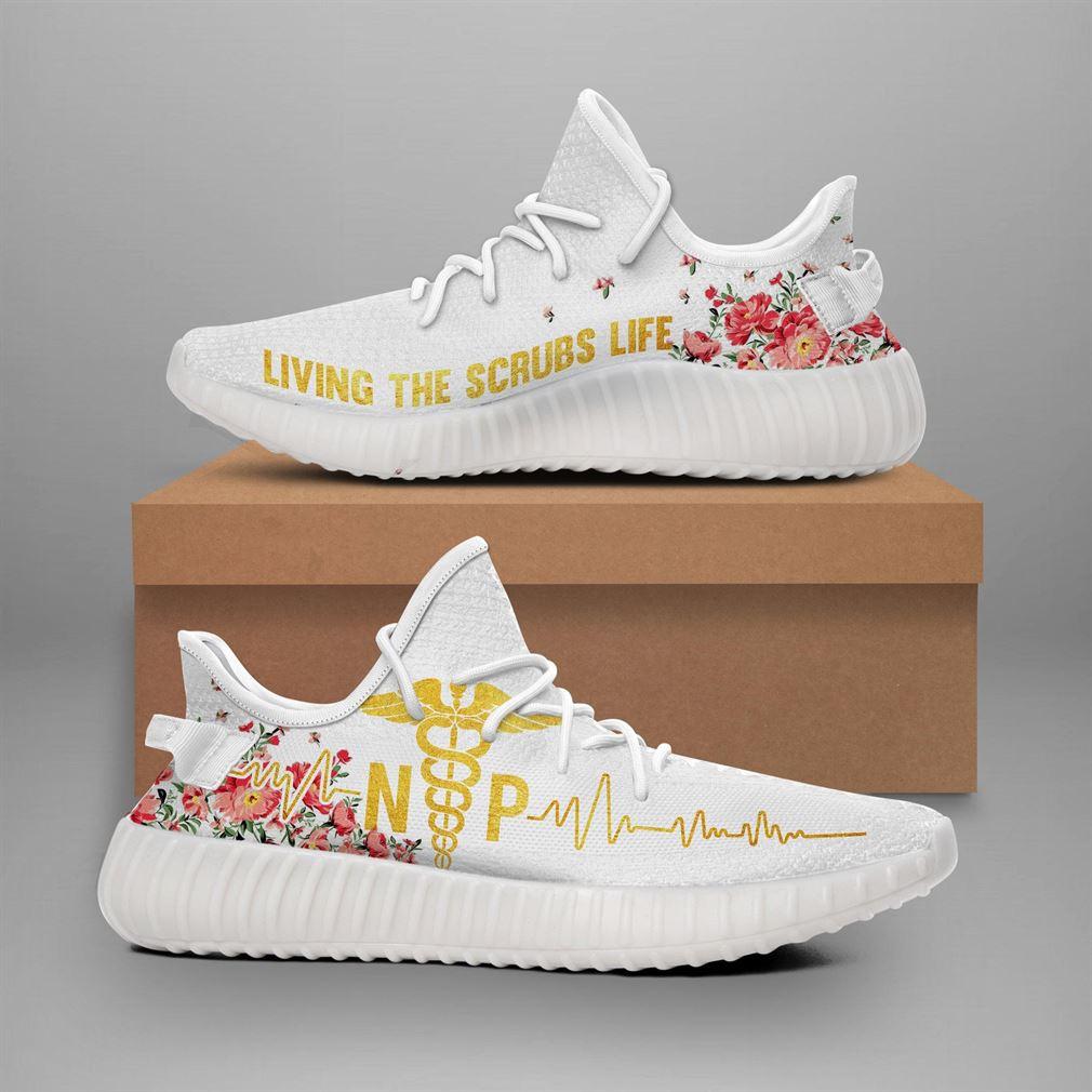 Np Nurse Yeezy Sneakers Shoes