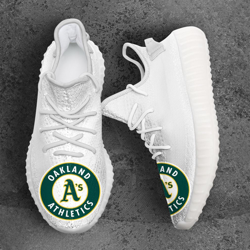 Oakland Athletics Mlb Sport Teams Yeezy Sneakers Shoes