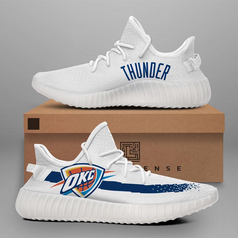 Oklahoma City Thunder Nba Teams Runing Yeezy Sneakers Shoes