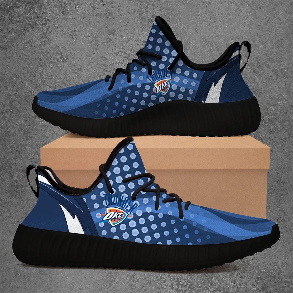 Oklahoma City Thunder Yeezy Sneakers Shoes