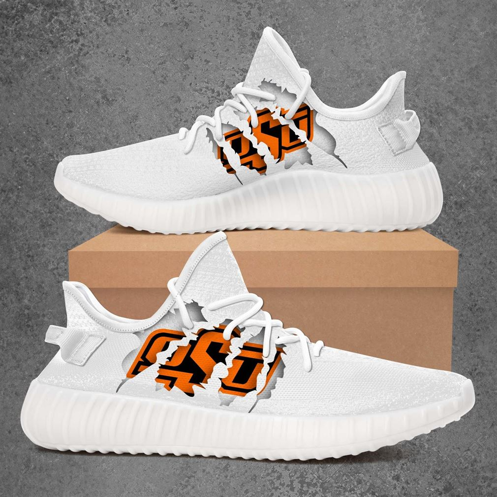 Oklahoma State Cowboys Nhl Sport Teams Yeezy Sneakers Shoes