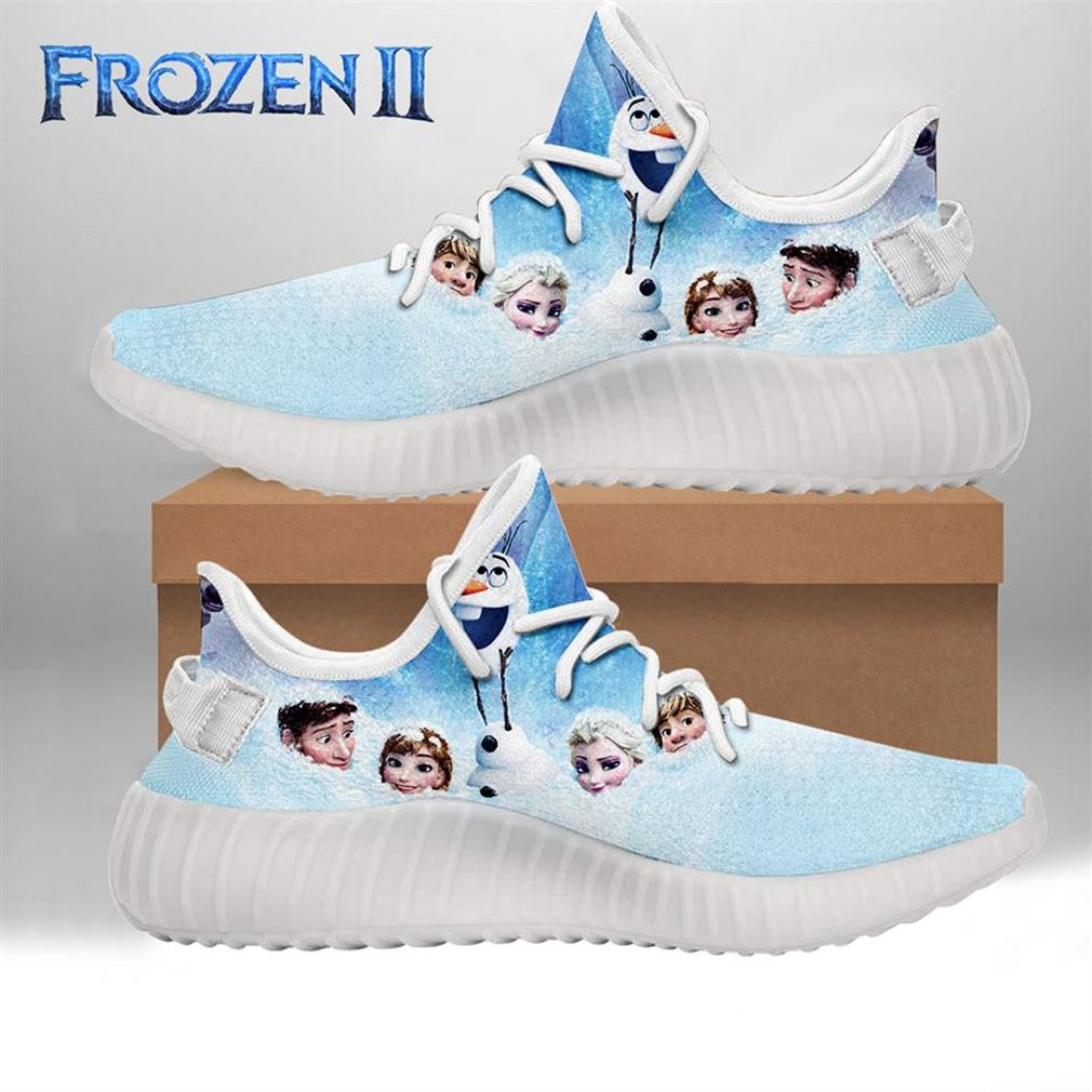 Olaf Style Yeezy Sneakers Shoes