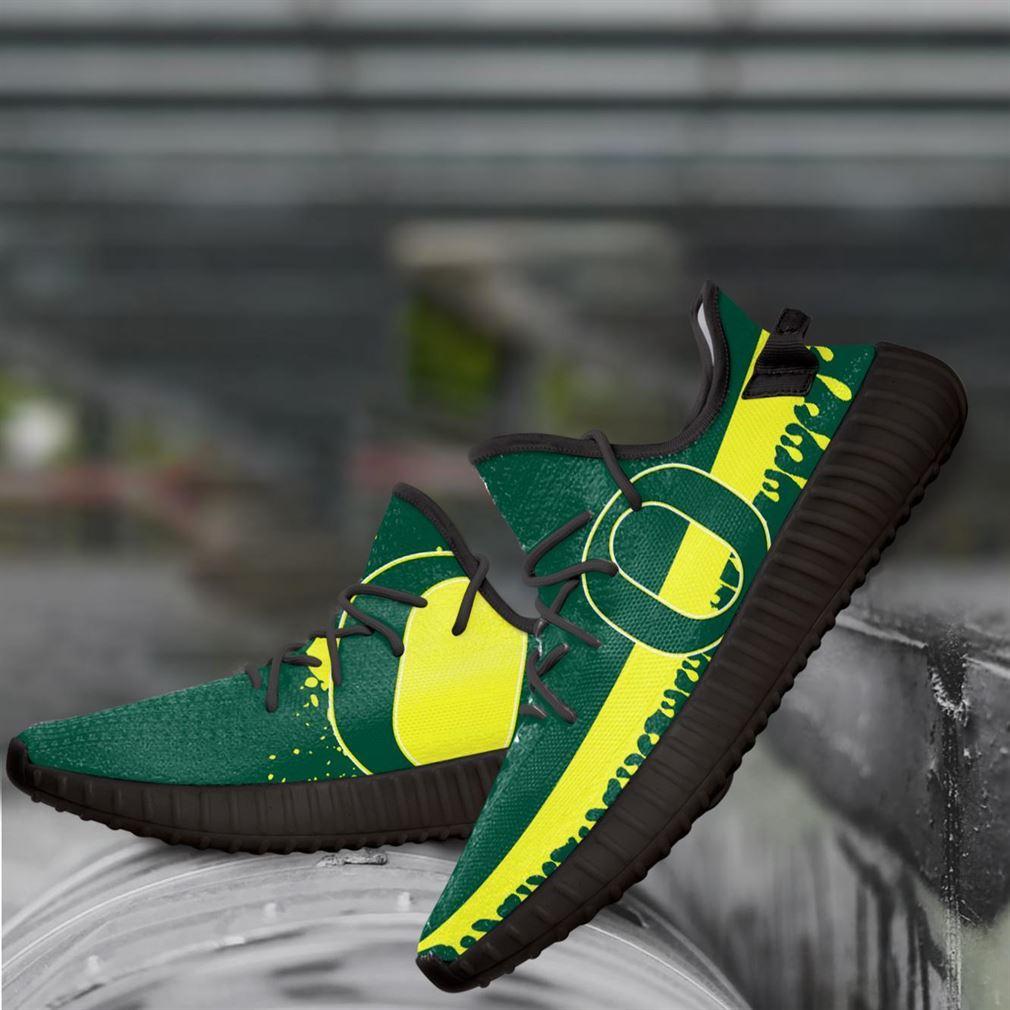 Oregon Ducks Ncaa Yeezy Sneakers Shoes