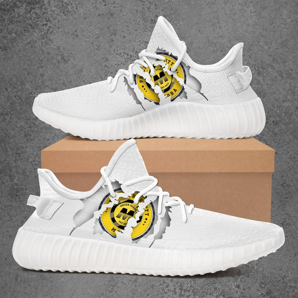 Peachtree City Moba Usl League Two Sport Teams Yeezy Sneakers Shoes White