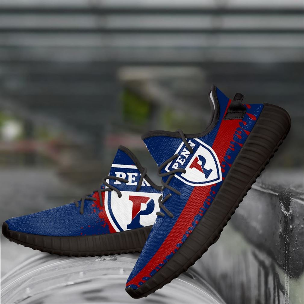 Penn Quakers Ncaa Yeezy Sneakers Shoes