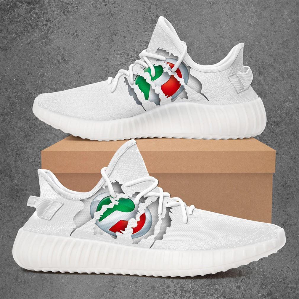 Perodua Car Yeezy Sneakers Shoes White