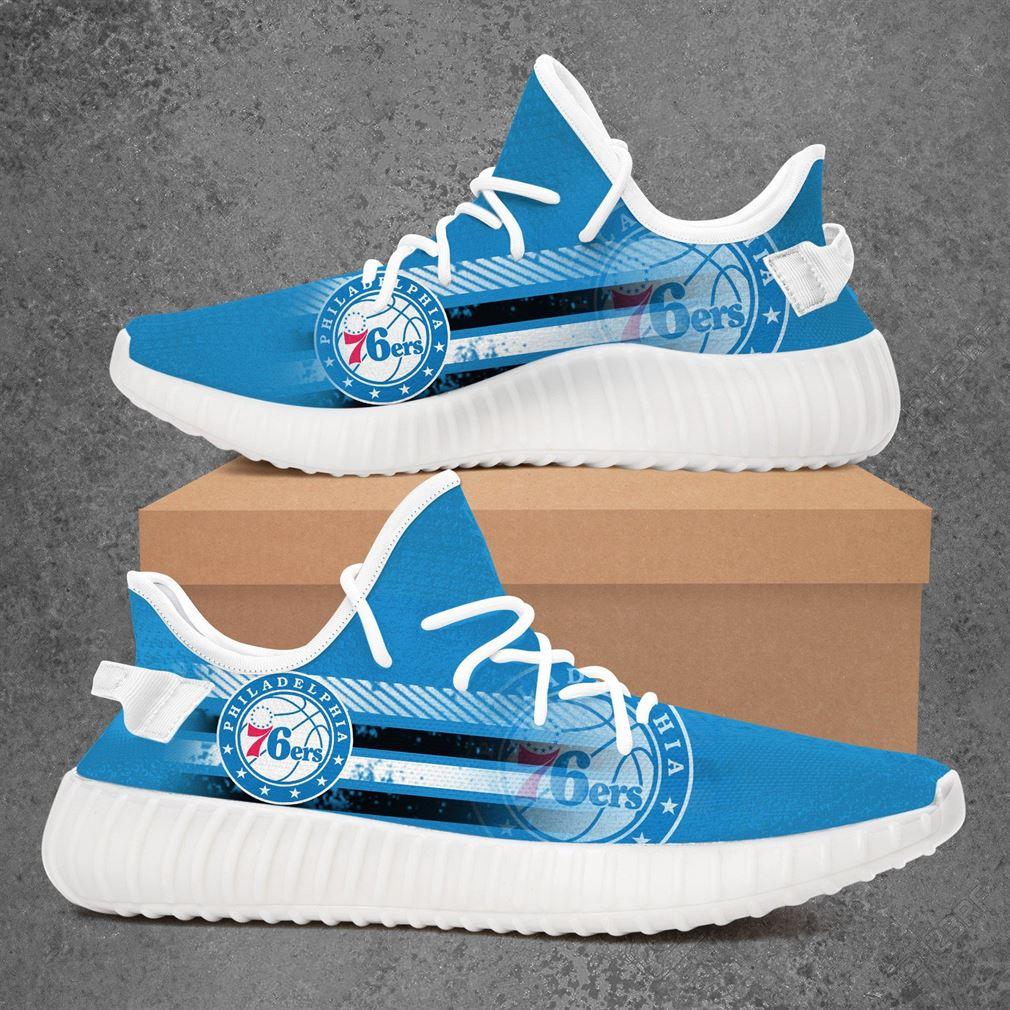 Philadelphia 76ers Nba Basketball Yeezy Sneakers Shoes