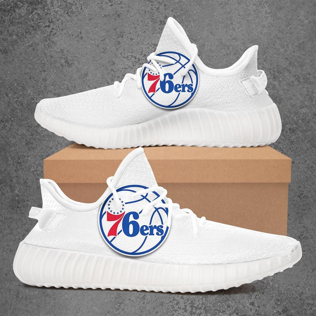 Philadelphia 76ers Nfl Football Yeezy Sneakers Shoes