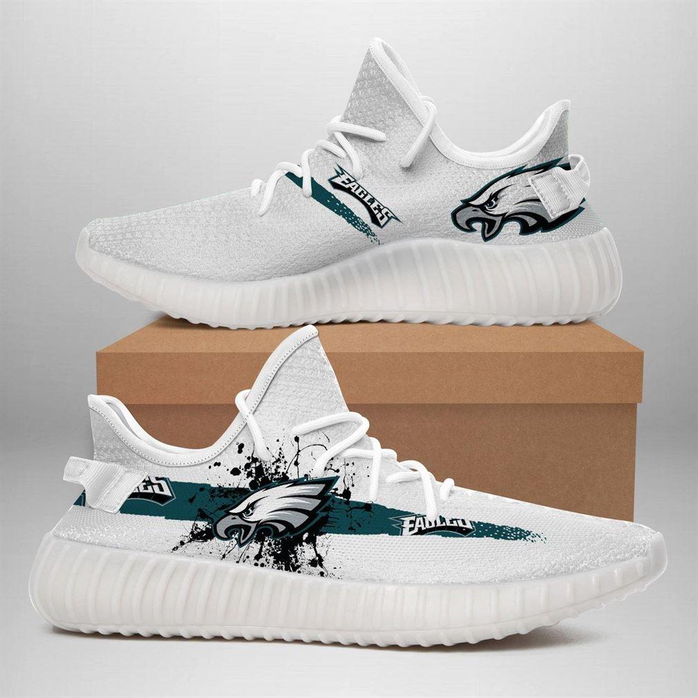 Philadelphia Eagles Nfl Sport Teams Runing Yeezy Sneakers Shoes