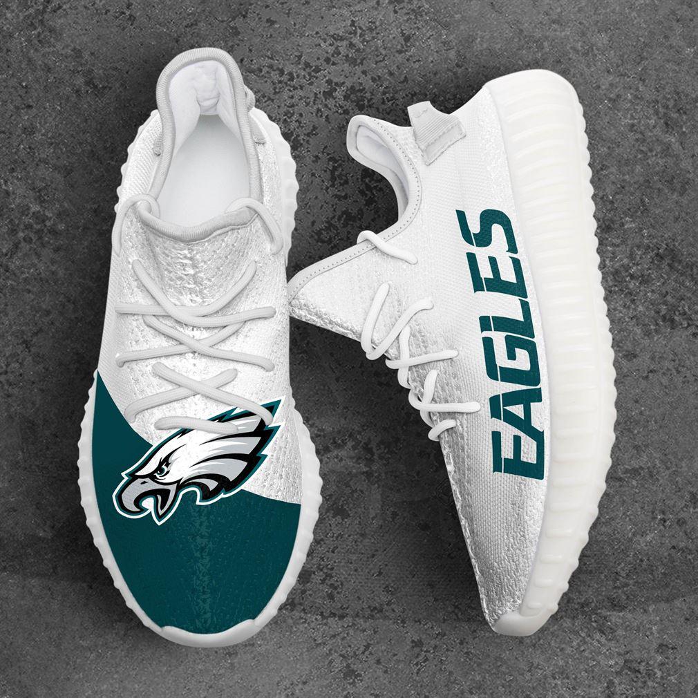 Philadelphia Eagles Nfl Sport Teams Yeezy Sneakers Shoes