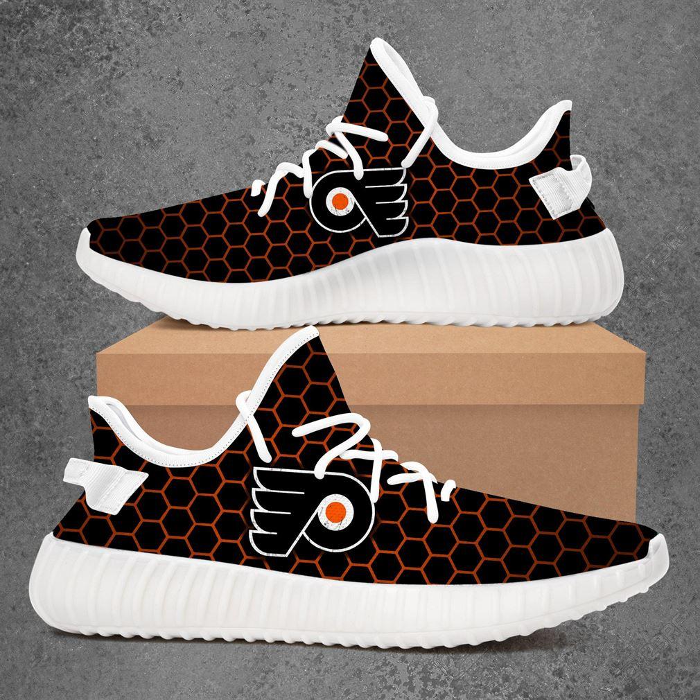 Philadelphia Flyers Nhl Hockey Yeezy Sneakers Shoes
