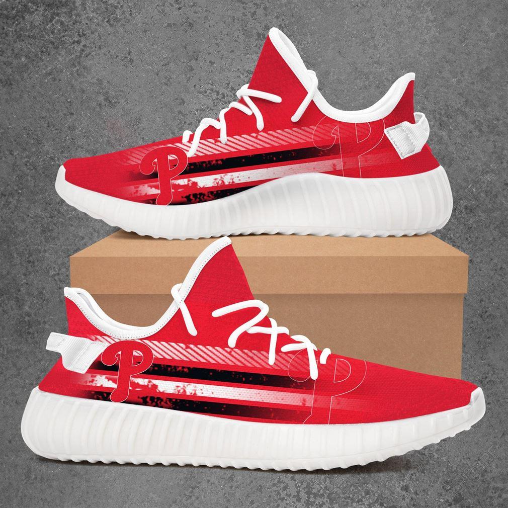 Philadelphia Phillies Mlb Baseball Yeezy Sneakers Shoes