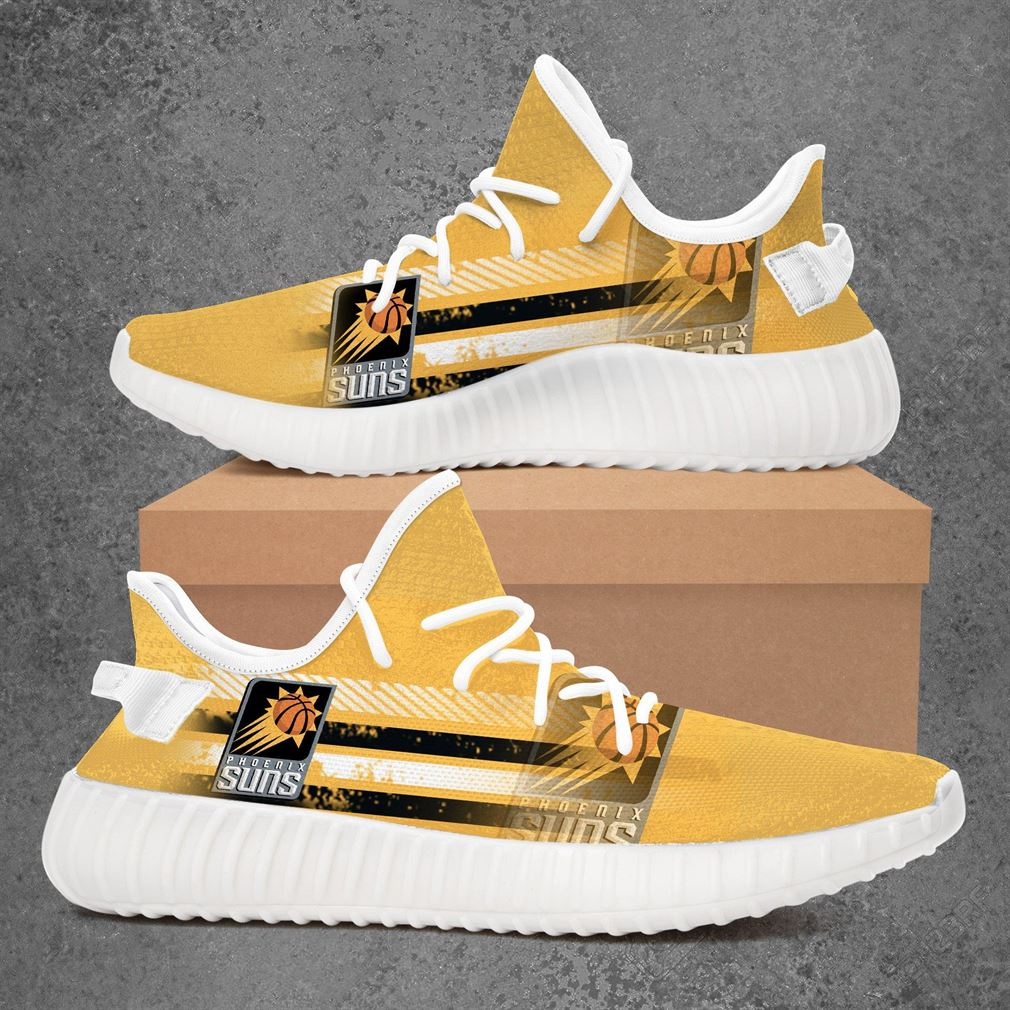 Phoenix Suns Nba Basketball Yeezy Sneakers Shoes