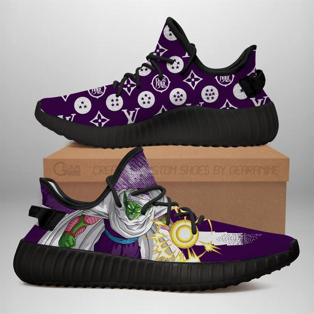 Piccolo Yz Sneakers Dragon Ball Shoes Anime Yeezy Sneakers Shoes Black