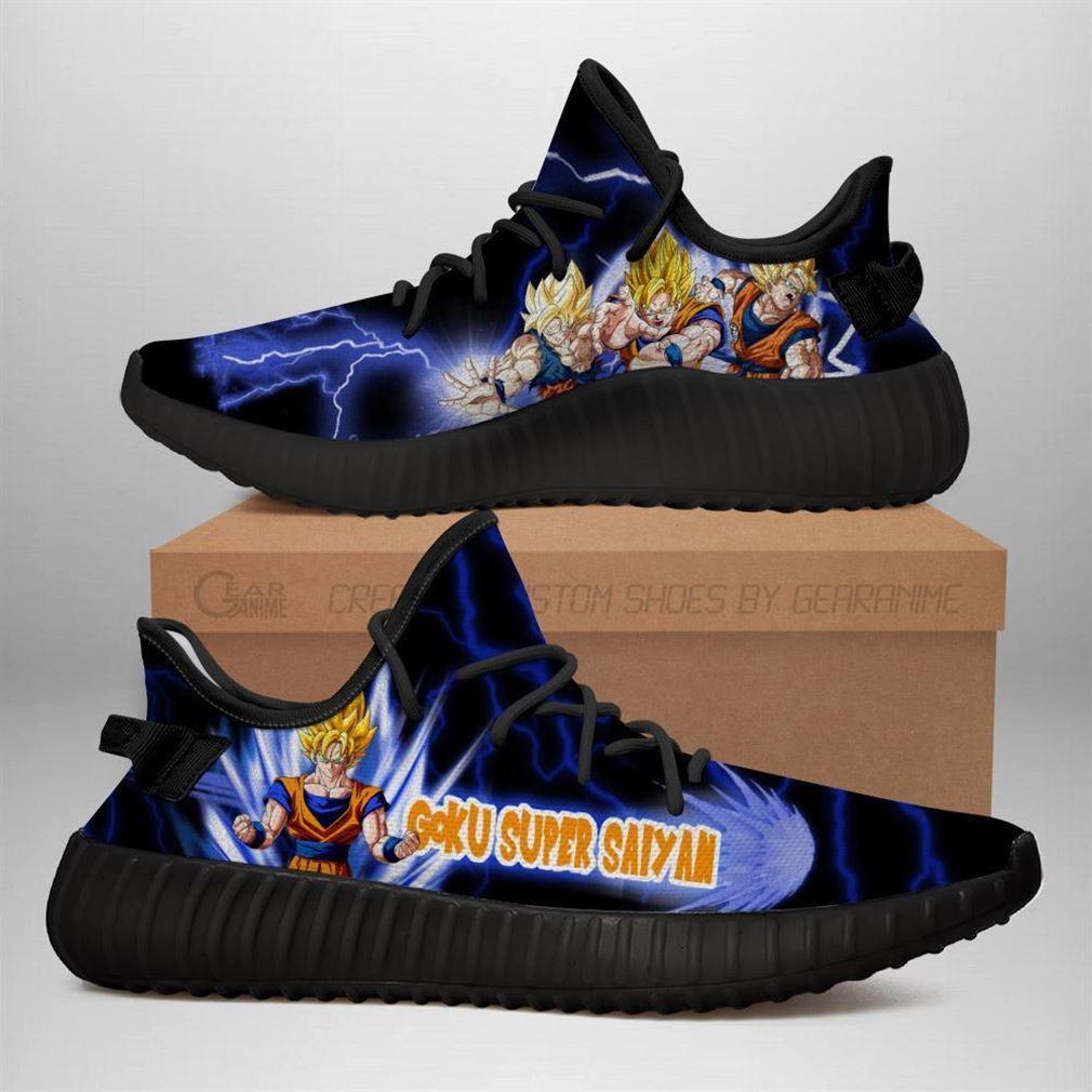 Piccolo Yz Sneakers Dragon Ball Z Shoes Anime Yeezy Sneakers Shoes Black
