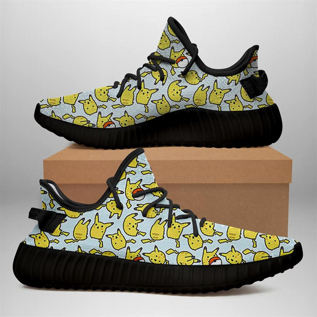 Pikachu Yeezy Sneakers Shoes
