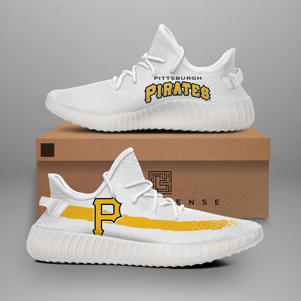 Pittsburgh Pirates Mlb Teams Runing Yeezy Sneakers Shoes