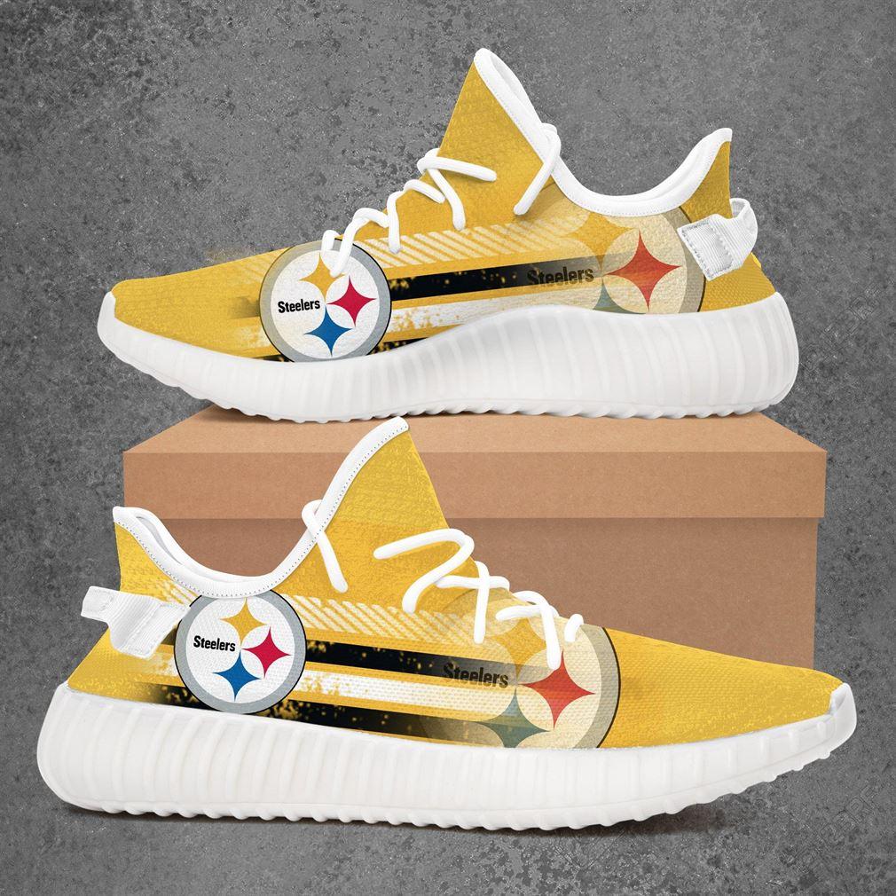 Pittsburgh Steelers Nfl Football Yeezy Sneakers Shoes