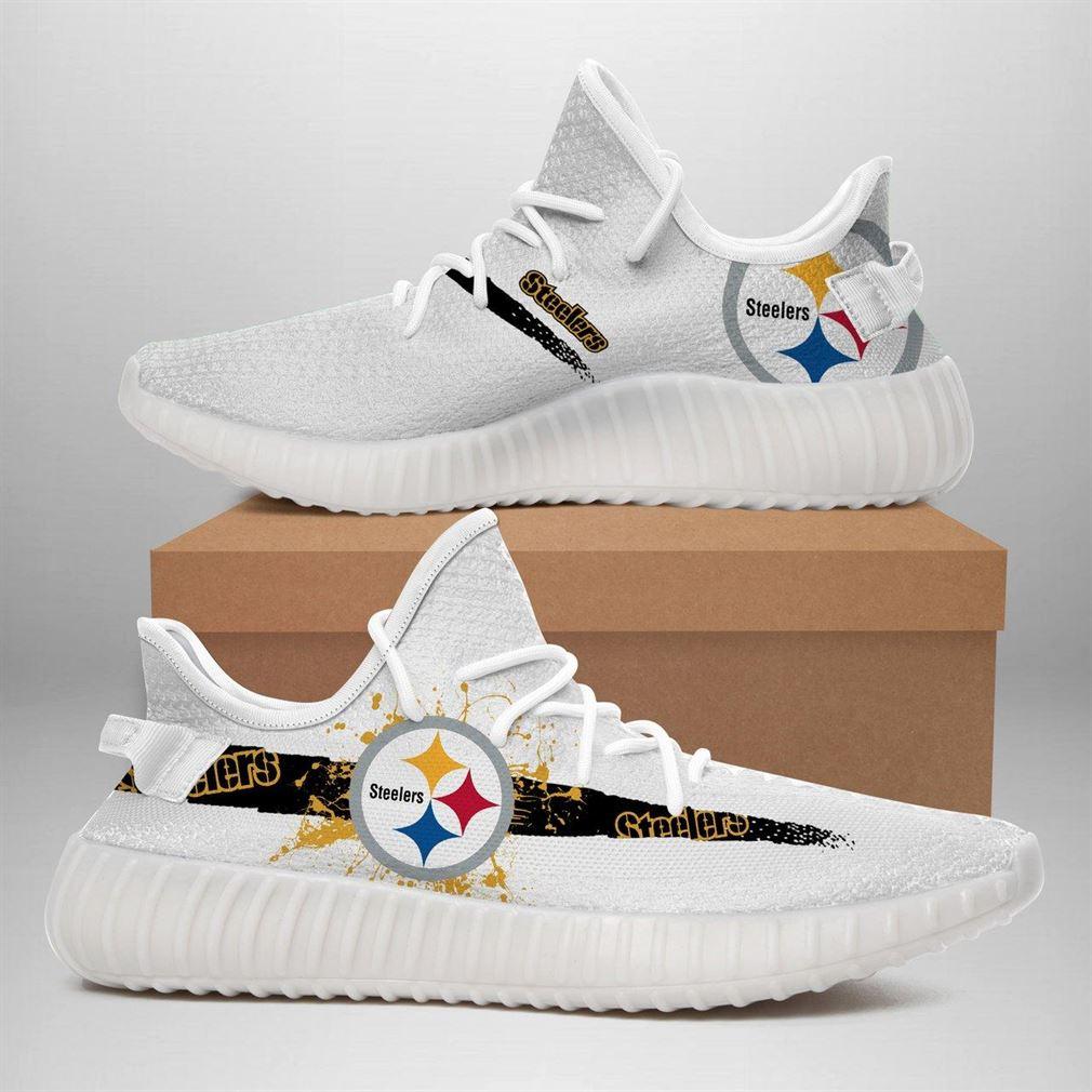 Pittsburgh Steelers Nfl Sport Teams Runing Yeezy Sneakers Shoes
