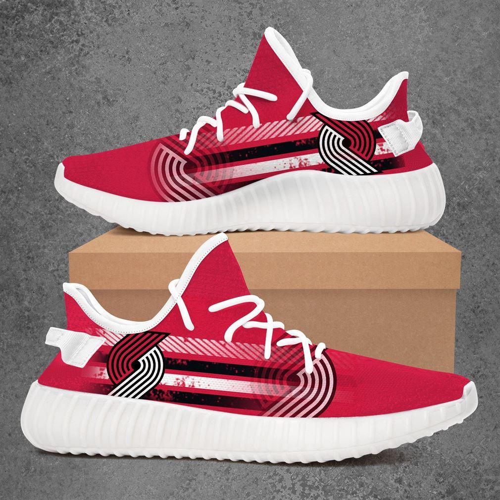Portland Trail Blazers Nba Basketball Yeezy Sneakers Shoes